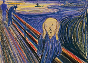 The Scream. In my head. Every day.
